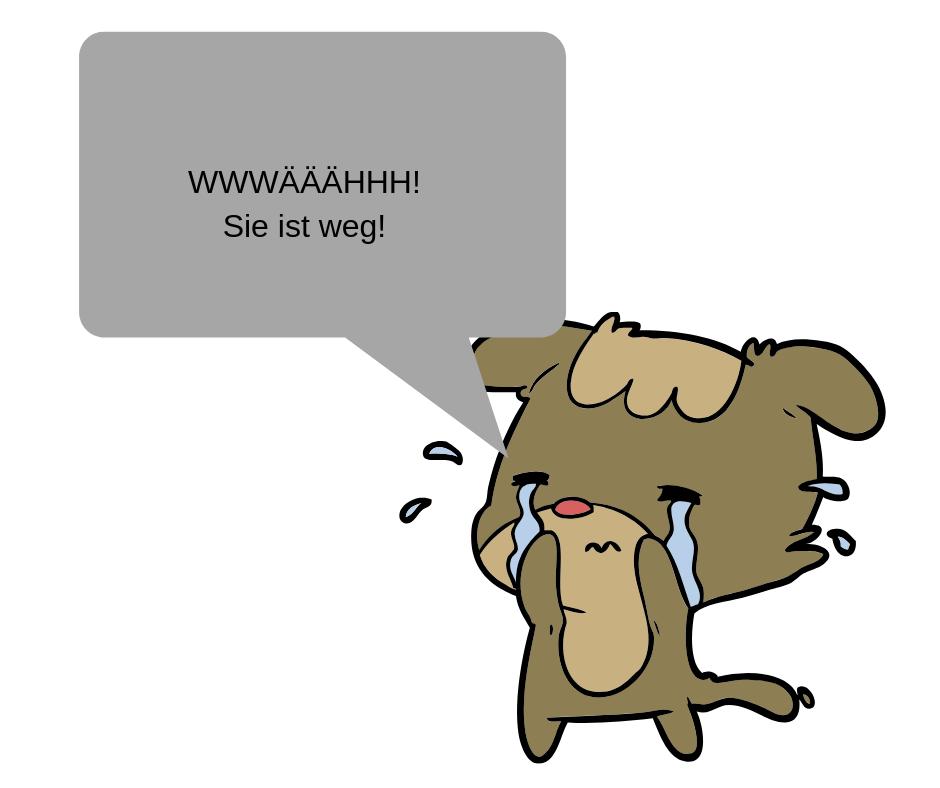 weinen nach Trennung